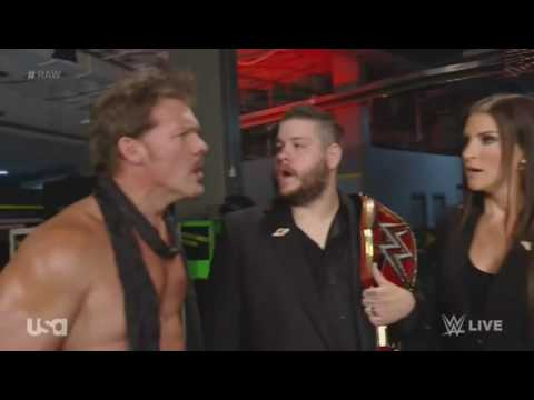 Kevin Owens & Chris Jericho Upset because of Mick Foley at backstage