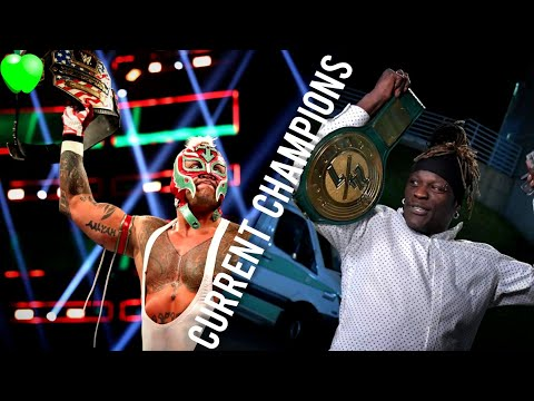 All Current WWE Champions Of May 2019