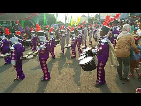 Marcing Band Lagu Thola'al Badru Alaina, Nurul Huda Peringatan Tahun Baru Islam 1439 Desa Bululawang