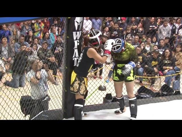 WFAT VIII   Kickboxing   Angela vs Eduarda