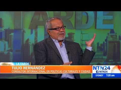"""Tulio Hernández: """"el único conflicto en Venezuela es entre la barbarie y la democracia"""""""