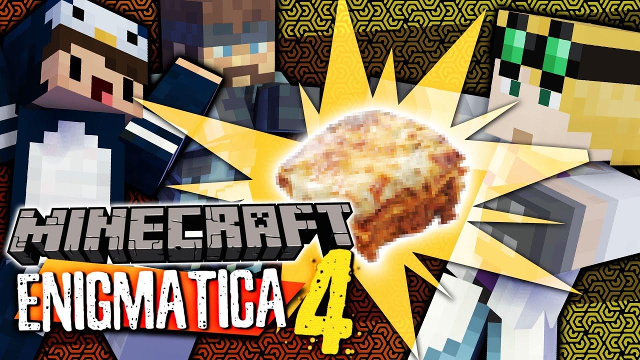 Minecraft Enigmatica 4 - WE'VE MADE LASAGNA! #55 (Minecraft Modded)
