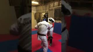 boxing only sparring practice for sabaki karate