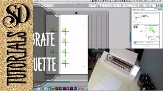 SS3 Calibrate your Silhouette Cameo for perfect print and cut projects
