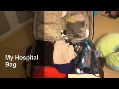 What's in my HOSPITAL BAG (Labor & Delivery) Travel Video