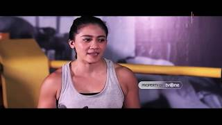 Train With Angels feat. Inandya Citra | Double Leg Takedown!
