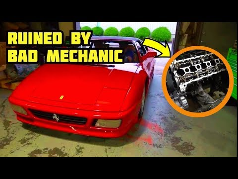 Our FERRARI was RUINED by another MECHANIC **NEVER DO THIS TO A FERRARI**  | DIY MAJOR Pt. 13