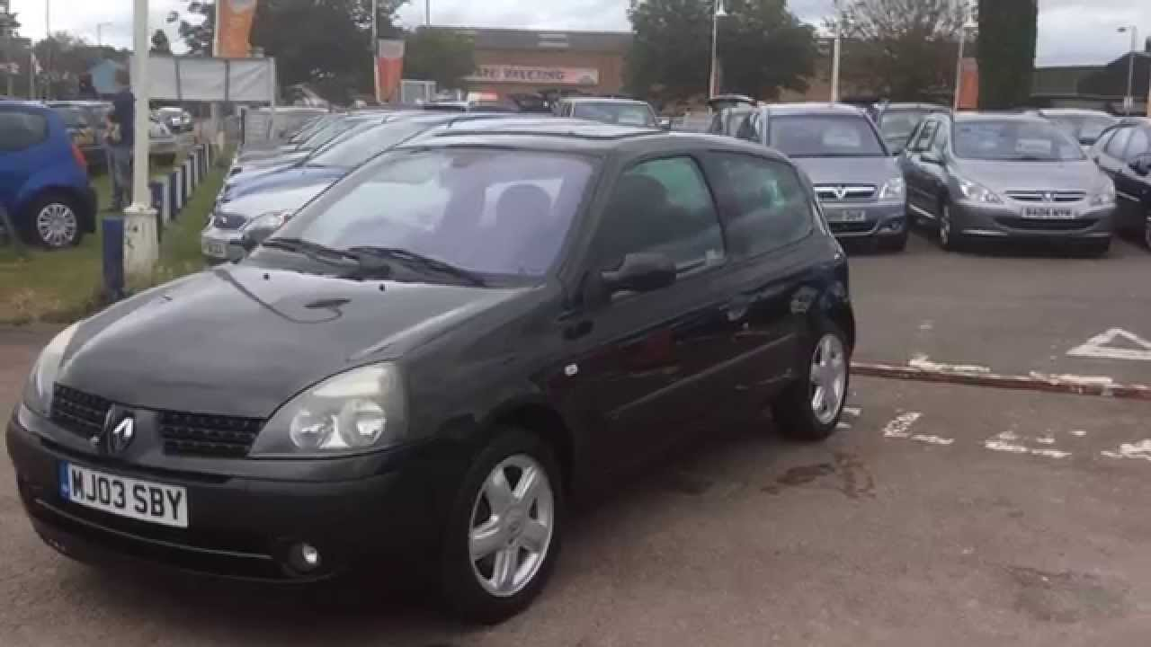 2003 renault clio 1 2 16v dynamique at youtube. Black Bedroom Furniture Sets. Home Design Ideas