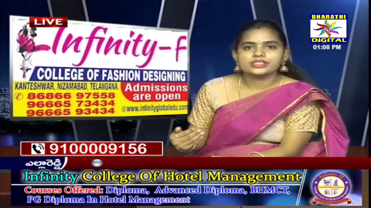 Infinity College Of Fashion Designing 09 05 2020 Youtube