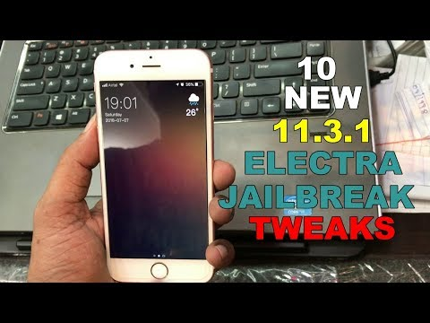 Top 10 MUST HAVE Tweaks For iOS 11.2 - 11.3.1 Electra Jailbreak
