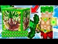 ¡NUEVOS LUCKY BLOCKS DRAGON BALL SUPER BROLY LEGENDARIO! 💥😱 LUCKY BLOCKS MINECRAFT MOD OP