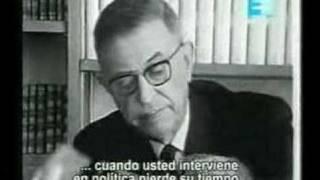 Entrevista a Sartre completa (1 de 6)