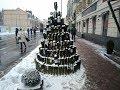 Поделки - ★Креативные ребятя сделали Дерево из бутылок своими руками. Уличное ди ай вай