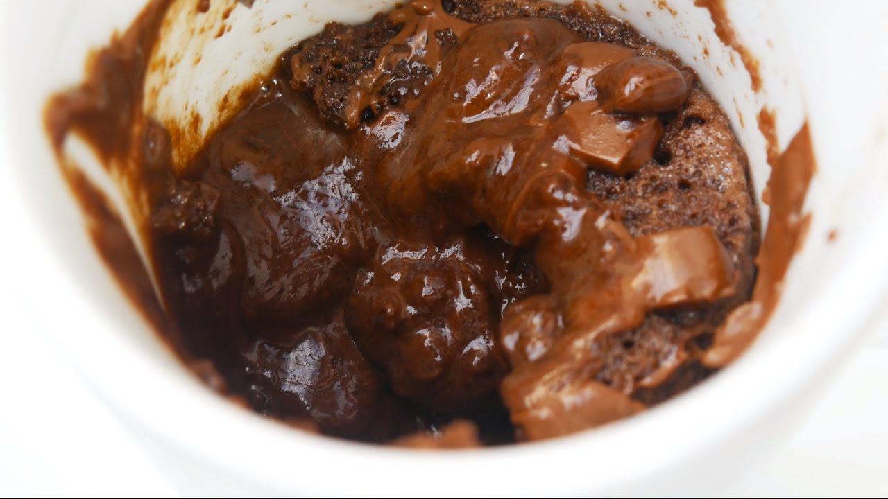 Self Saucing Chocolate Mug Cake