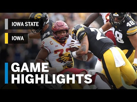 Highlights: Iowa State Cyclones vs. Iowa Hawkeyes | Big Ten Football