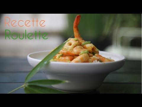 Crevettes au curry express !