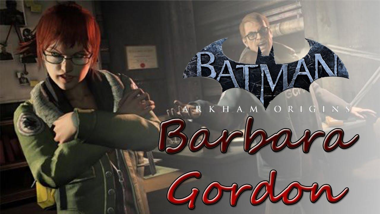 batman arkham origins barbara gordon batgirl
