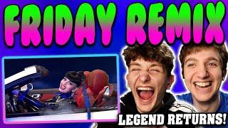 Rebecca black - friday (remix) reaction!! ft dorian electra, big freedia & 3oh!3 [official video]