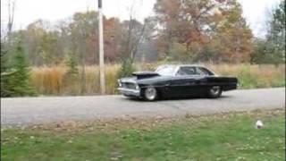 1967 Chevy Nova Burnout