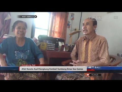 NET. BALI - ATLET KARATE ASAL KLUNGKUNG KEMBALI SUMBANG EMAS SEA GAMES