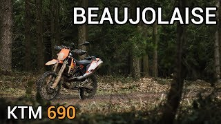 Beaujolaise 20180304 - Tests PdV - KTM 690