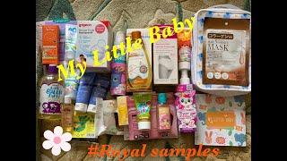 Розпакування дитячої коробочки від Royal samples My Little Baby