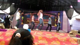 Gangadhar meher University annual function dance