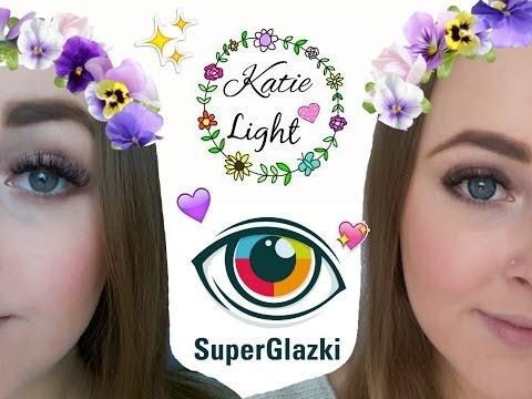 Мои первые цветные линзы * SuperGlazki * Katie Light