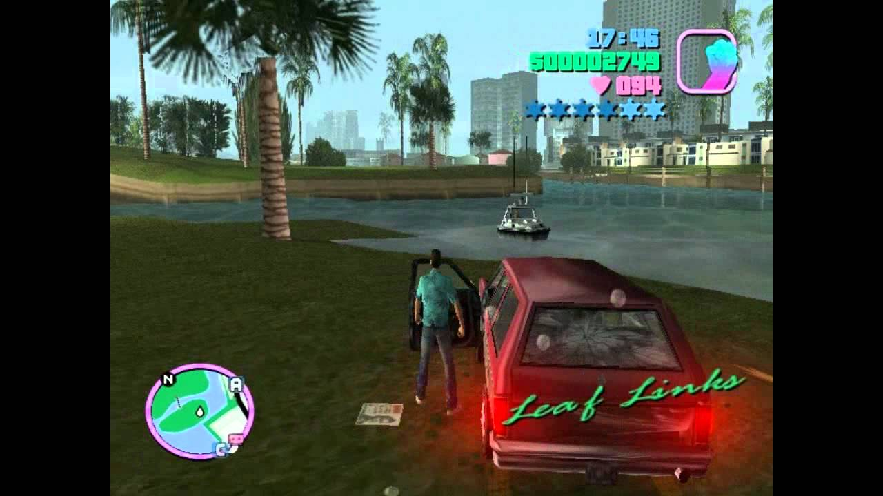 Gta Vice City How To Get A Boat