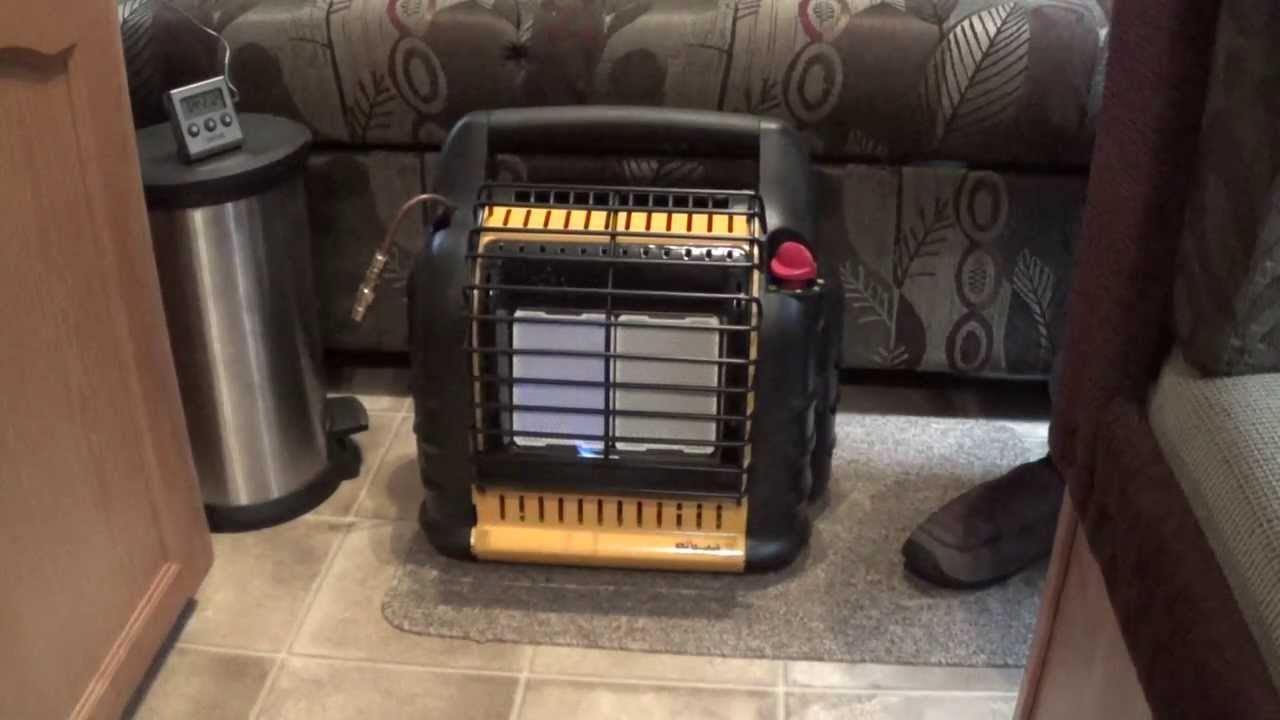 Rv Heating Five Different Ways Including Mr Heater Big