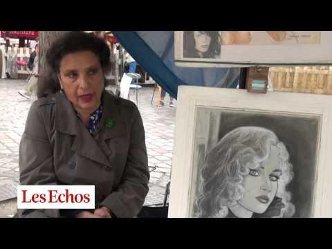 Place du Tertre à Montmartre, les artistes sont menacés par les restaurateurs