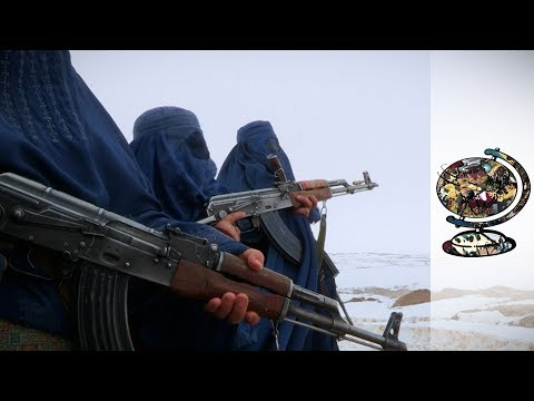 The Afghan Women Fighting IS And The Taliban