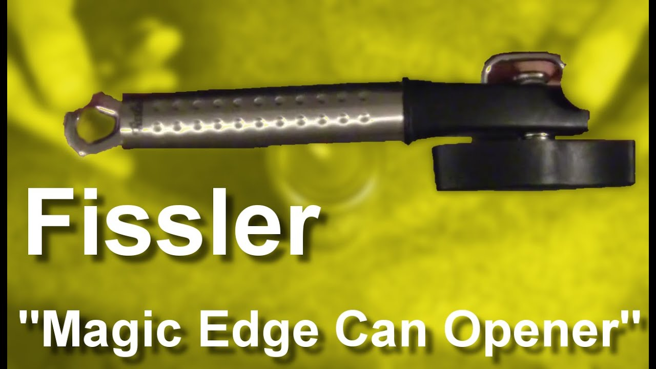 how to use fissler can opener