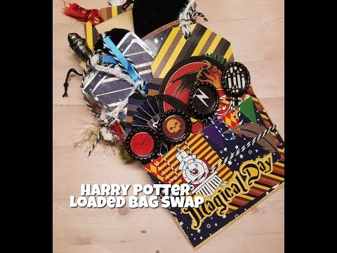Harry Potter Loaded Bag Swap|Girls Gone Papercrafters Group