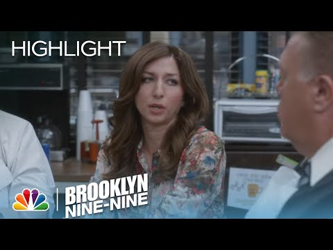 Gina Hangs Out With Hitchcock And Scully | Season 2 Ep. 1 | BROOKLYN NINE-NINE