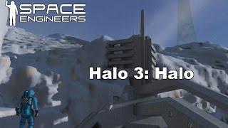 Space Engineers Halo 3 last mission
