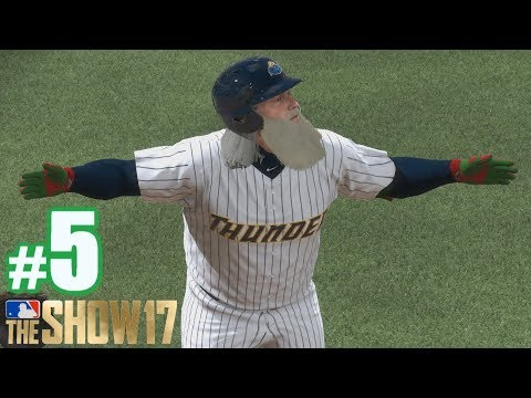 FIRST GRAND SLAM! | MLB The Show 17 | Road to the Show #5