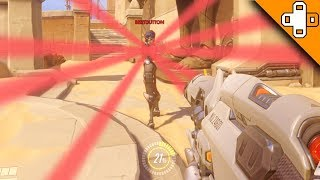 Noob Widowmaker Misses EVERY Shot! Overwatch Funny & Epic Moments 536