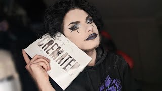 Smokey Goth Makeup Tutorial - CREMATED PALETTE TEA?
