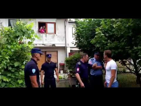 Odbornik Drasko Stanivukovic i policija