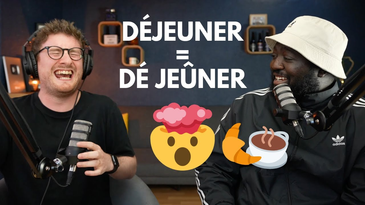 Teaching FRENCH to the FRENCH comedian DJIMO (The REAL meaning of DÉJEUNER)