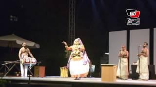 «كاتاكالى» عرض شعبى هندى على مسرح «المكتبة» فى مهرجان الصيف