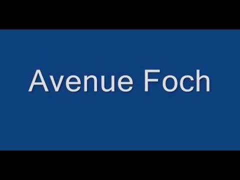 Avenue Foch Paris Arrondissement  16e