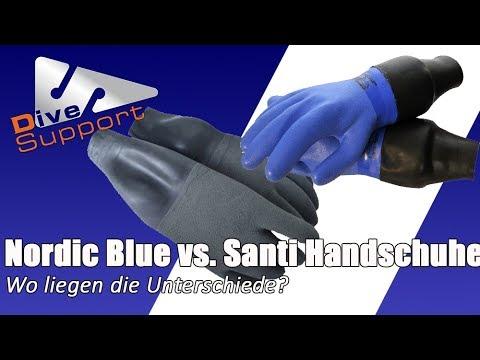 Nordic Blue Vs. Santi Trockentauchhandschuhe – Wo Liegen Die Unterschiede?   DiveSupport