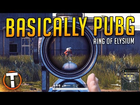 Basically PUBG? - Ring Of Elysium (First Look Gameplay)