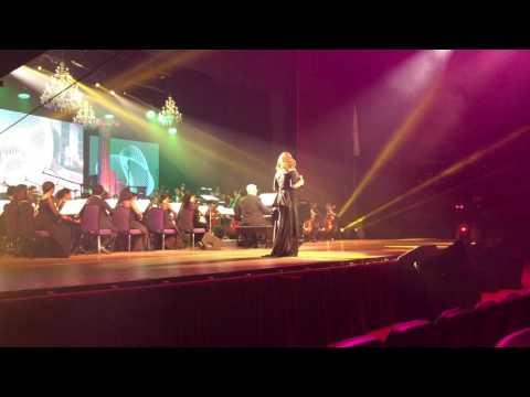 Anna Fegi-Brown performs Evergreen