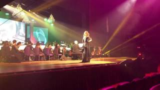 Anna Fegi-Brown performs Evergreen