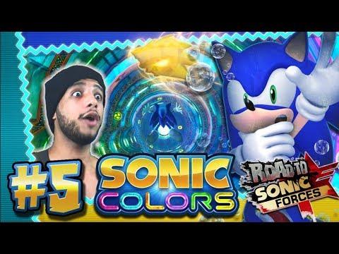 Sonic Colors 4K 60FPS (100%) - Part 5 - Aquarium Park *THE ROAD TO SONIC FORCES*