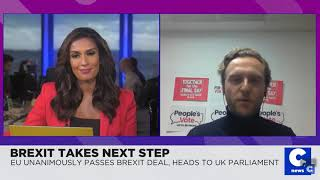 Interview with Cheddar News - 17 October 2019