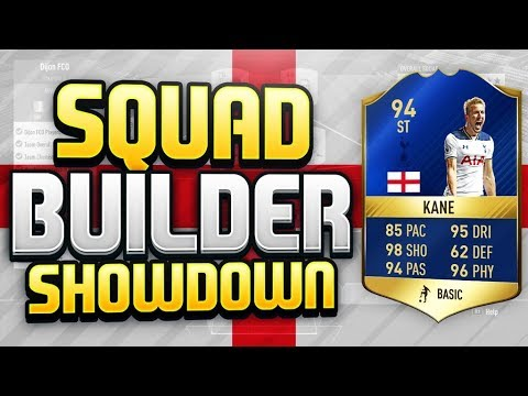 FIFA 17 SQUAD BUILDER SHOWDOWN!! TOTS HARRY KANE!! 94 Rated Top Scorer Harry Kane!